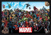 Marvel - Universe Inramad poster