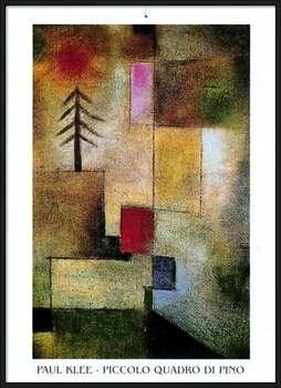 P.Klee - Piccolo Quadro Di Pino Inramad poster