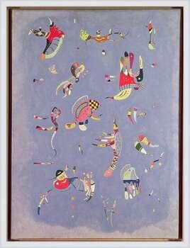 Wassily Kandinsky - Sky Blue Inramad poster