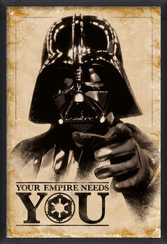 Inramad poster Star Wars - Your Empire Needs You