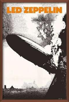 Inramad poster Led Zeppelin - Led Zeppelin I