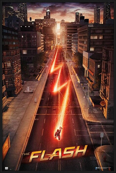 Inramad poster The Flash - One Sheet