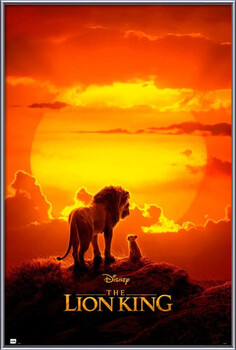 Inramad poster The Lion King - One Sheet