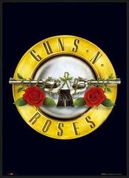 Inramad poster Guns'n'Roses - logo