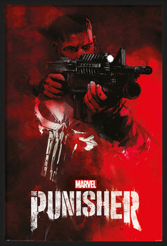Inramad poster The Punisher - Aim