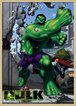 Poster  HULK - punch