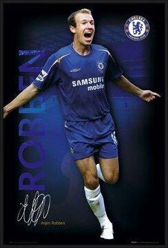 Poster  Chelsea - Robben 05/06