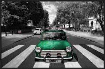 Poster Abbey road - mini
