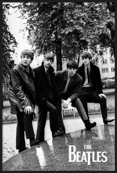 Poster  The Beatles - Pose