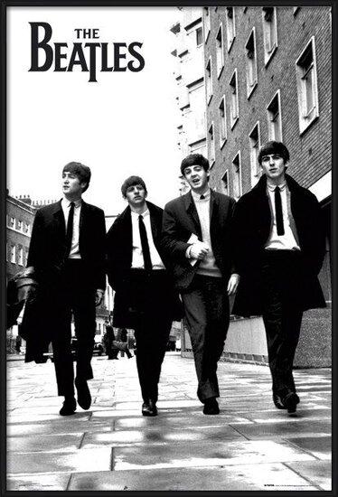 Poster  Beatles - in London