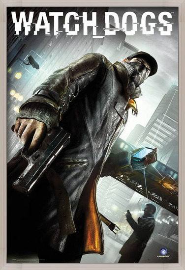 Poster  Watch dogs - cover