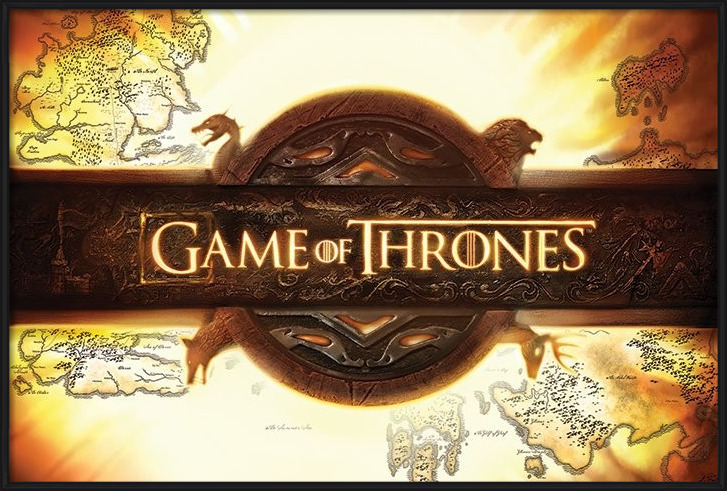 Poster  Game of Thrones - Logo