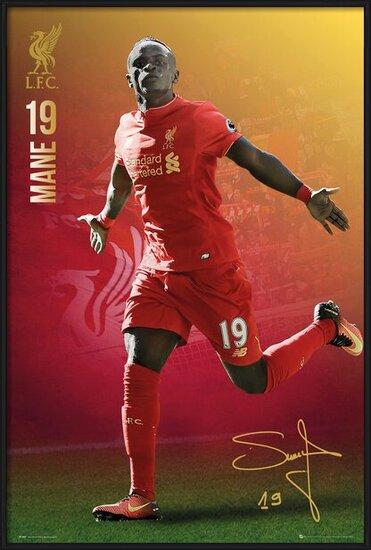 Poster  Liverpool - Mane 16/17