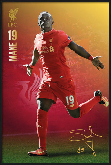 Poster  Liverpool - Mane 16/17