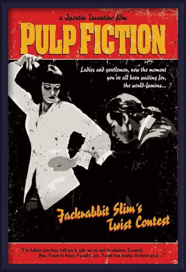 Poster  Pulp Fiction - Twist Contest