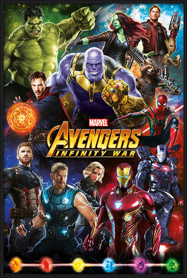 Poster Avengers: Infinity War - Characters
