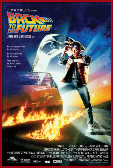 Poster  BACK TO THE FUTURE