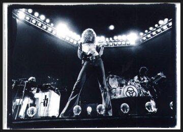 Poster  Led Zeppelin - duotone
