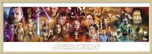 Poster  STAR WARS - complete
