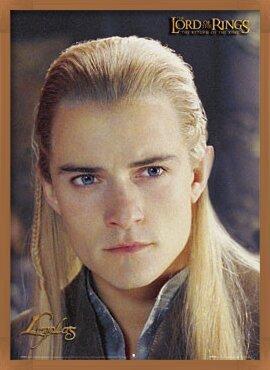 Poster  PÁN PRSTENŮ - Legolas portrait