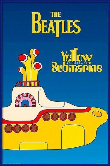 Poster  Beatles - yellow submarine