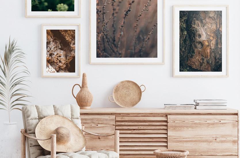 Konstfotografering Pine wood