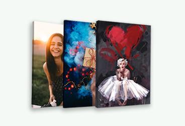 Bilder på canvas