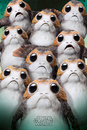 Star Wars: The Last Jedi- Many Porgs